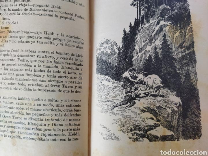 Libros antiguos: Heidi .Juana Spyri .2 edición 1931.Editorial Juventud - Foto 6 - 243605550