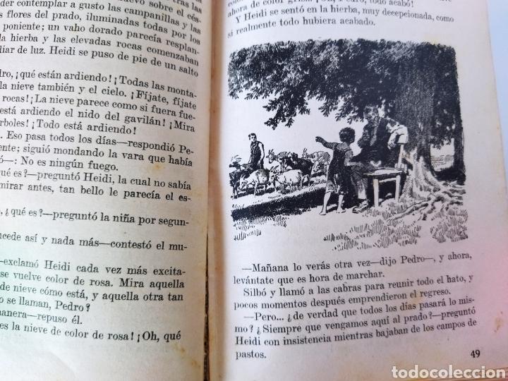 Libros antiguos: Heidi .Juana Spyri .2 edición 1931.Editorial Juventud - Foto 7 - 243605550