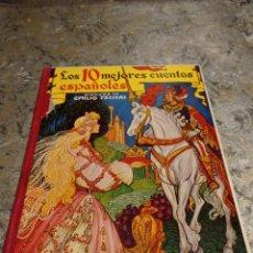 Libros antiguos: CUENTO LOS 10 MEJORES CUENTOS ESPAÑOLES DIBUJOS DE EMILIO FREXAS PRIMERA EDICIÓN .MARZO 1956. Lote 243674310