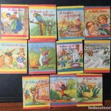Libros antiguos: EDITORIAL FHER , BILBAO , LOTE DE 11 CUENTOS ANTIGUOS , TIPO CALLEJA .. Lote 244399655
