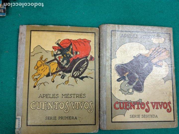 CUENTOS VIVOS SERIES PRIMERA Y SEGUNDA. APELES MESTRES. SEIX BARRAL 1929 - 1931. (Libros Antiguos, Raros y Curiosos - Literatura Infantil y Juvenil - Cuentos)
