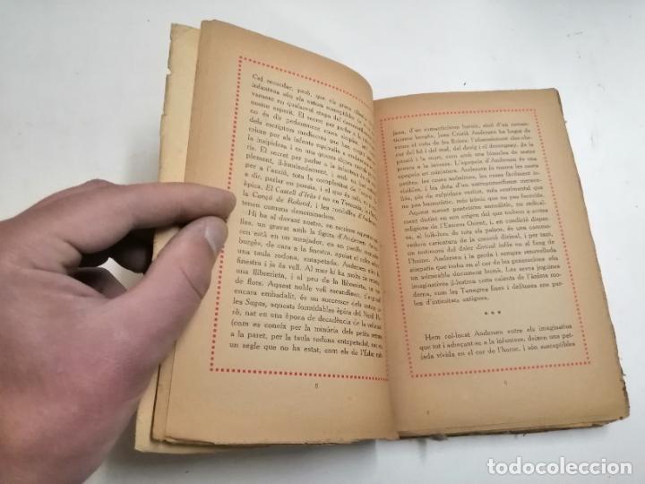 Libros antiguos: Contes dAndersen. Joan Cristiá Andersen. 1918 Barcelona. Ed.: Catalana. Joan dAlbaflor - Foto 2 - 244490475