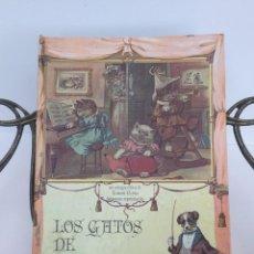 Libros antiguos: LOS GATOS DE GATOLANDIA LIBRO POP UP. DESPLEGABLE.. Lote 244571370