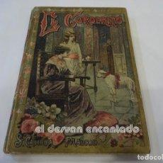 Libros antiguos: EL CORDERITO. CUENTO CALLEJA EN TAPAS DURAS. 15 X 10,5 CTMS. Lote 245028800