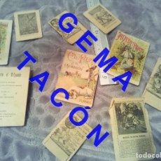 Libros antiguos: CUENTOS EDITORIAL CALLEJA INCOMPLETOS CUBIERTAS Y HOJAS LO QUE VES C65. Lote 245287825