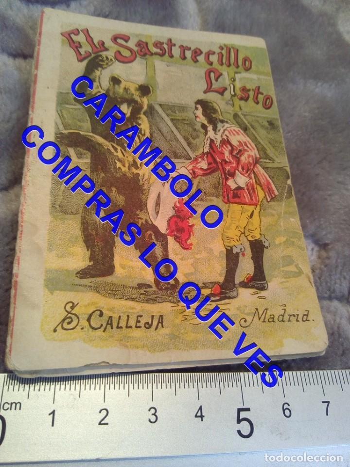 EL SASTRECILLO LISTO CUENTO CALLEJA ANTIGUO DE EPOCA U31 (Libros Antiguos, Raros y Curiosos - Literatura Infantil y Juvenil - Cuentos)