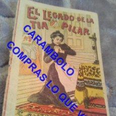 Libros antiguos: EL LEGASDO DE LA TIA PILAR CUENTO CALLEJA ANTIGUO DE EPOCA U31. Lote 245916665