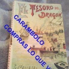 Libros antiguos: EL TESORO DEL DRAGON CUENTO CALLEJA ANTIGUO DE EPOCA U31. Lote 245916760
