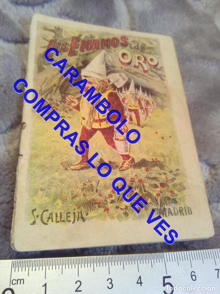 LOS ENANOS DE ORO CALLEJA ANTIGUO DE EPOCA U31 (Libros Antiguos, Raros y Curiosos - Literatura Infantil y Juvenil - Cuentos)