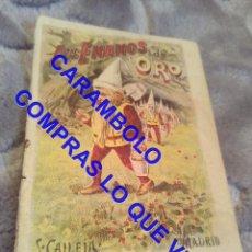 Libros antiguos: LOS ENANOS DE ORO CALLEJA ANTIGUO DE EPOCA U31. Lote 245916920