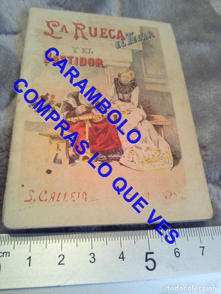 LA RUECA EL TELAR Y EL BASTIDOR CALLEJA ANTIGUO DE EPOCA U31 (Libros Antiguos, Raros y Curiosos - Literatura Infantil y Juvenil - Cuentos)
