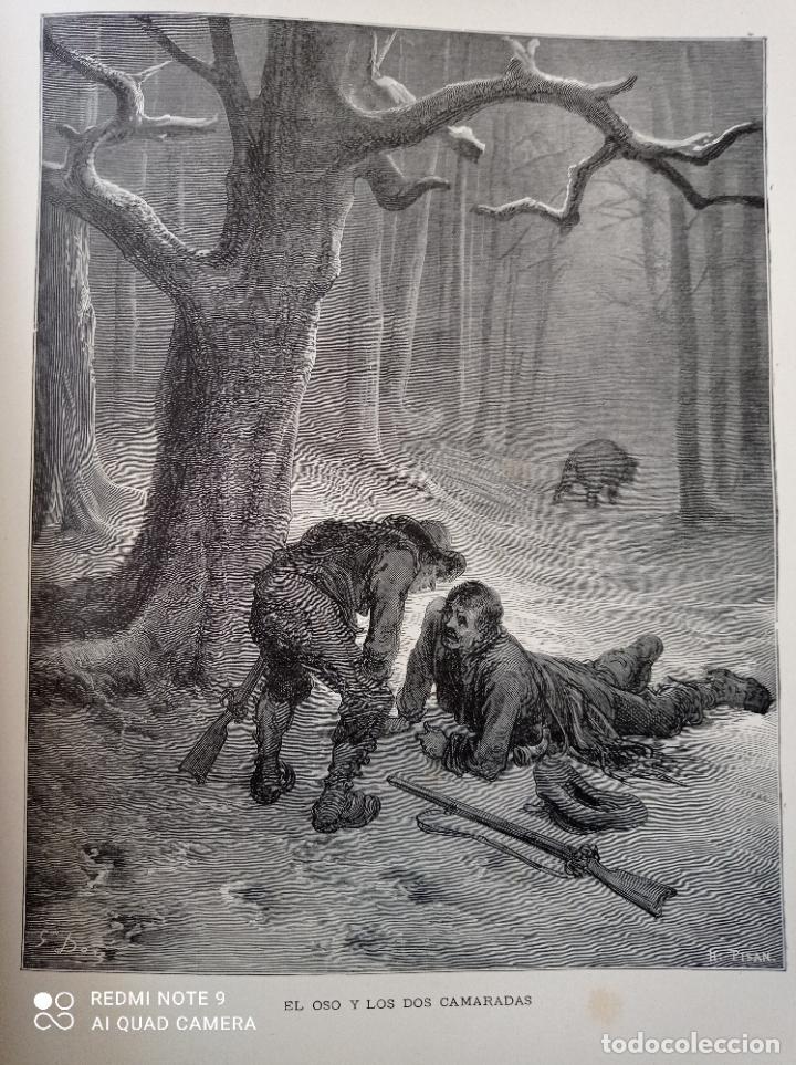 Libros antiguos: FABULAS DE LA FONTAINE, ILUSTRADO POR GUSTAVO DORÉ. MONTANER Y SIMON 1885. UNA JOYA. VER FOTOS - Foto 7 - 247236295
