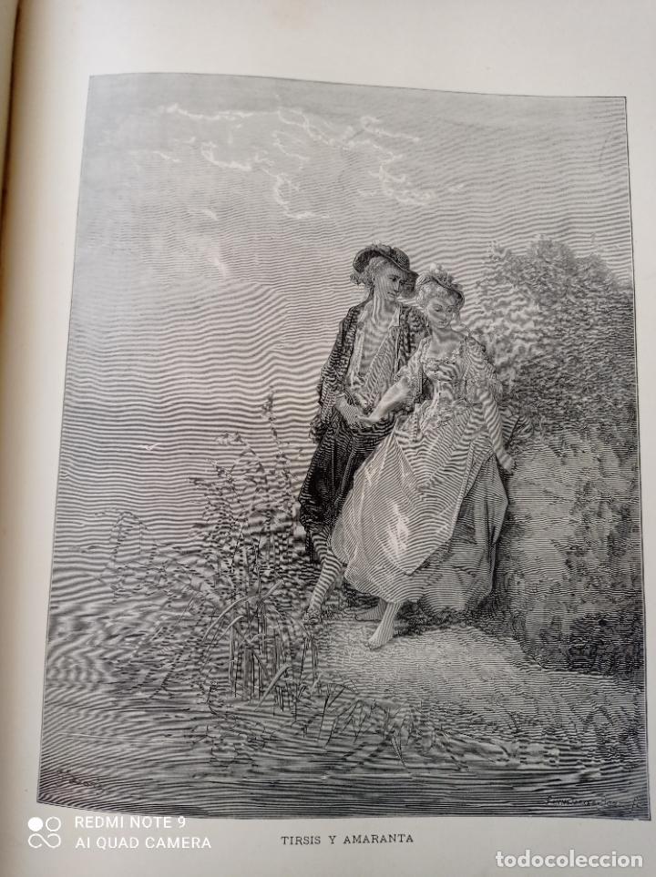 Libros antiguos: FABULAS DE LA FONTAINE, ILUSTRADO POR GUSTAVO DORÉ. MONTANER Y SIMON 1885. UNA JOYA. VER FOTOS - Foto 8 - 247236295