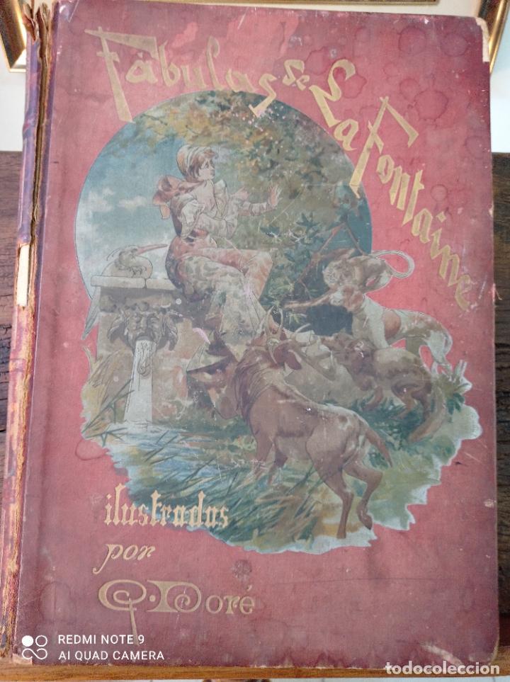 Libros antiguos: FABULAS DE LA FONTAINE, ILUSTRADO POR GUSTAVO DORÉ. MONTANER Y SIMON 1885. UNA JOYA. VER FOTOS - Foto 10 - 247236295