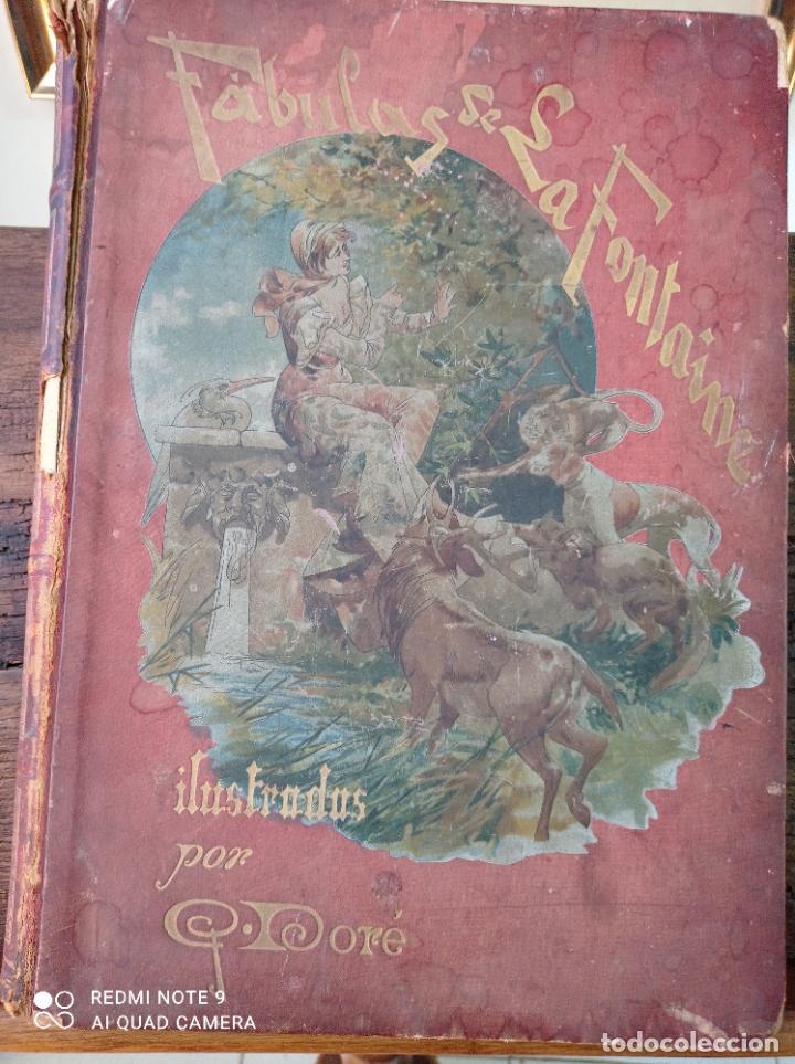 Libros antiguos: FABULAS DE LA FONTAINE, ILUSTRADO POR GUSTAVO DORÉ. MONTANER Y SIMON 1885. UNA JOYA. VER FOTOS - Foto 16 - 247236295