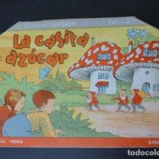 Libros antiguos: LA CASITA DE AZUCAR ILUSTRADOR MALLAFRE BARCELONA : ED. ROMA, S.A. COL. ILUSION 3. Lote 247808920