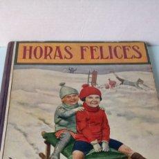 Libros antiguos: LIBRO HORAS FELICES. AA. VV. EDITORIAL RAMÓN SOPENA. AÑO 1936.. Lote 251114135