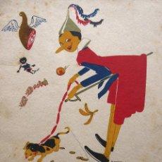 Libri antichi: RV-217. EN JAUJA. CUENTOS DE CALLEJA EN COLORES. AÑO 1919. DIBUJOS DE BARTOLOZZI.. Lote 252237450