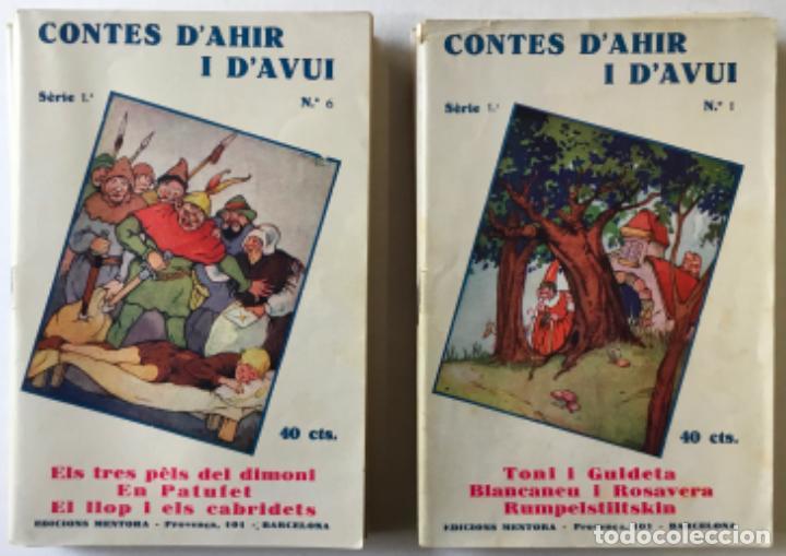 Libros antiguos: LA CAPSA DE LES RONDALLES. CONTES DAHIR I DAVUI. - SERRA BOLDÚ, Valeri. - Foto 4 - 123247663
