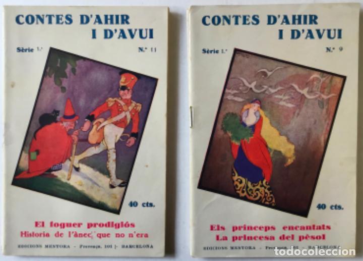Libros antiguos: LA CAPSA DE LES RONDALLES. CONTES DAHIR I DAVUI. - SERRA BOLDÚ, Valeri. - Foto 5 - 123247663