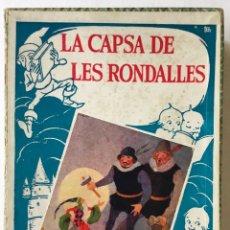 Libros antiguos: LA CAPSA DE LES RONDALLES. CONTES D'AHIR I D'AVUI. - SERRA BOLDÚ, VALERI.. Lote 123247663