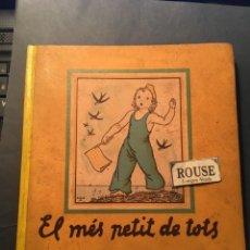Libros antiguos: GUERRA CIVIL - EL MES PETIT DE TOTS - LOLA ANGLADA I SARRIERA 1937 EDC. COMISSARIAT DE PROPAGANDA DE. Lote 255949475