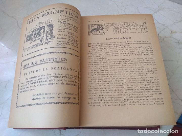 Libros antiguos: Impresionante tomo de Patufet año 1925. Completo. 1662 páginas - Foto 5 - 257500415