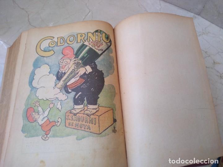 Libros antiguos: Impresionante tomo de Patufet año 1925. Completo. 1662 páginas - Foto 6 - 257500415