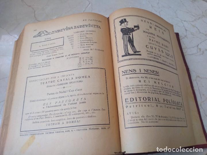 Libros antiguos: Impresionante tomo de Patufet año 1925. Completo. 1662 páginas - Foto 7 - 257500415