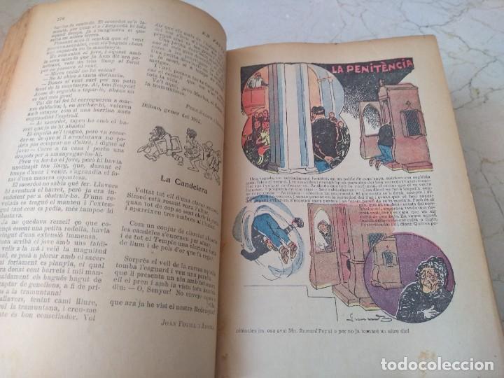 Libros antiguos: Impresionante tomo de Patufet año 1925. Completo. 1662 páginas - Foto 8 - 257500415