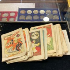 Libros antiguos: LOTE DE 55 MINI CUENTOS ANTIGUOS. Lote 261909405