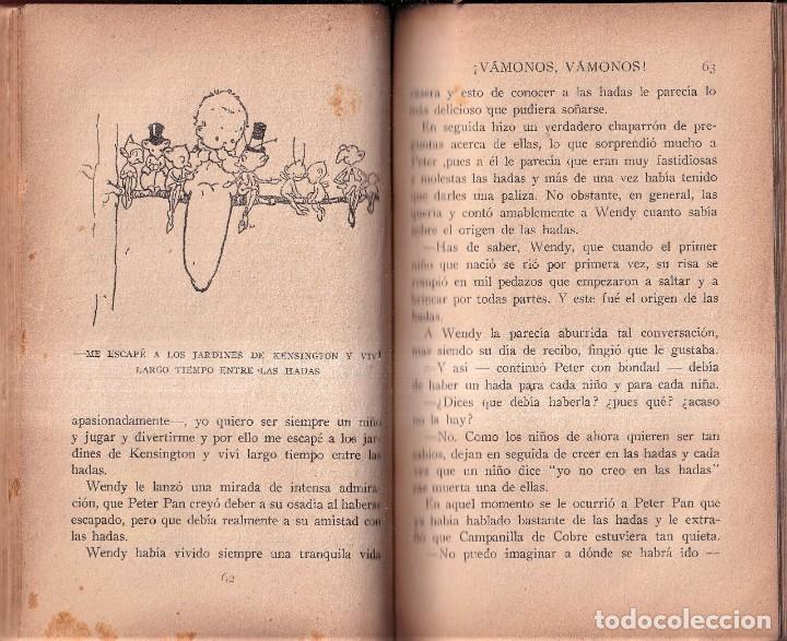 Libros antiguos: PETER PAN Y WENDY - J. M. BARRIE - MABEL LUCIE ATTWELL - ED. JUVENTUD 1925 PRIMERA EDICIÓN - Foto 4 - 262180915