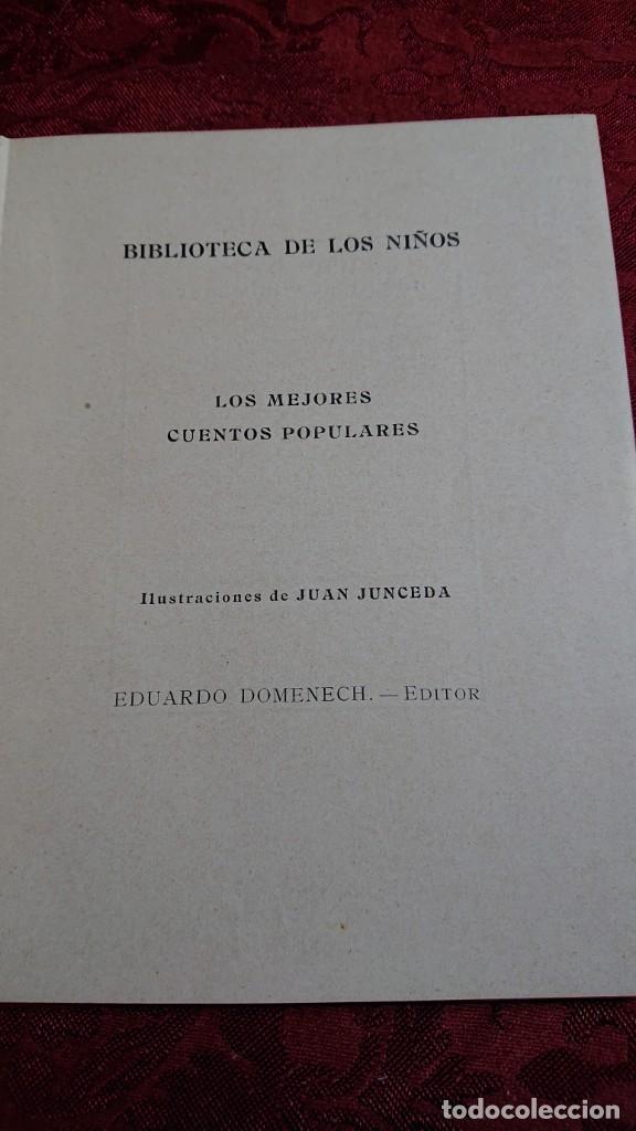 Libros antiguos: HERMOSO LIBRO CUENTOS DE LA ISLA DORADA - BIBLIOTECA DE LOS NIÑOS - ILUSTRADO POR JUAN JUNCEDA - - Foto 4 - 262206235