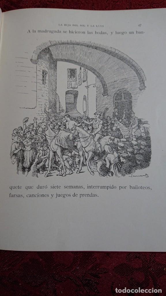 Libros antiguos: HERMOSO LIBRO CUENTOS DE LA ISLA DORADA - BIBLIOTECA DE LOS NIÑOS - ILUSTRADO POR JUAN JUNCEDA - - Foto 9 - 262206235