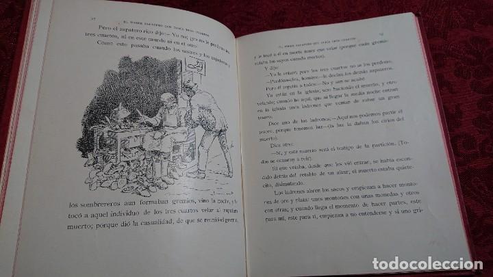 Libros antiguos: HERMOSO LIBRO CUENTOS DE LA ISLA DORADA - BIBLIOTECA DE LOS NIÑOS - ILUSTRADO POR JUAN JUNCEDA - - Foto 11 - 262206235