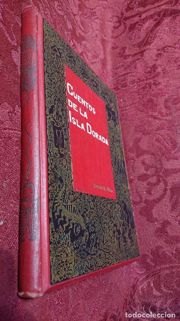 Libros antiguos: HERMOSO LIBRO CUENTOS DE LA ISLA DORADA - BIBLIOTECA DE LOS NIÑOS - ILUSTRADO POR JUAN JUNCEDA - - Foto 16 - 262206235
