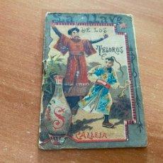 Libros antiguos: LA LLAVE DE LOS TESOROS CUENTO CALLEJA. TAPA DORADA (COIB142). Lote 262401230