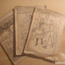 Libros antiguos: 3 CUENTECITOS CASI CENTENARIOS DE CARAMELOS SOL. Lote 262426240