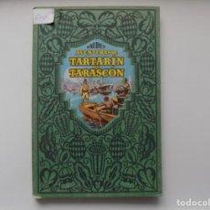 Libros antiguos: LIBRERIA GHOTICA. DAUDET. AVENTURAS DE TARTARIN DE TARASCON. DALMAU CARLES PLA 1930. ILUSTRADO.FOLIO. Lote 263035790