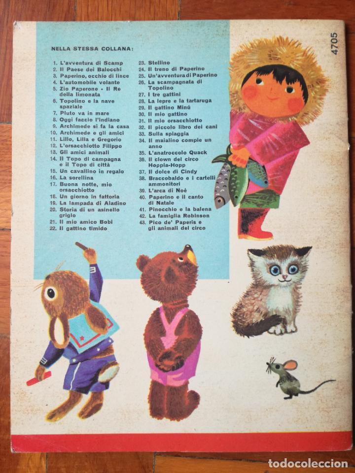 Libros antiguos: LOTE 3 CUENTOS DISNEY ANTIGUOS EN INGLES Y UNO EN ITALIANO - AÑOS 60 -70 - Foto 4 - 263880735