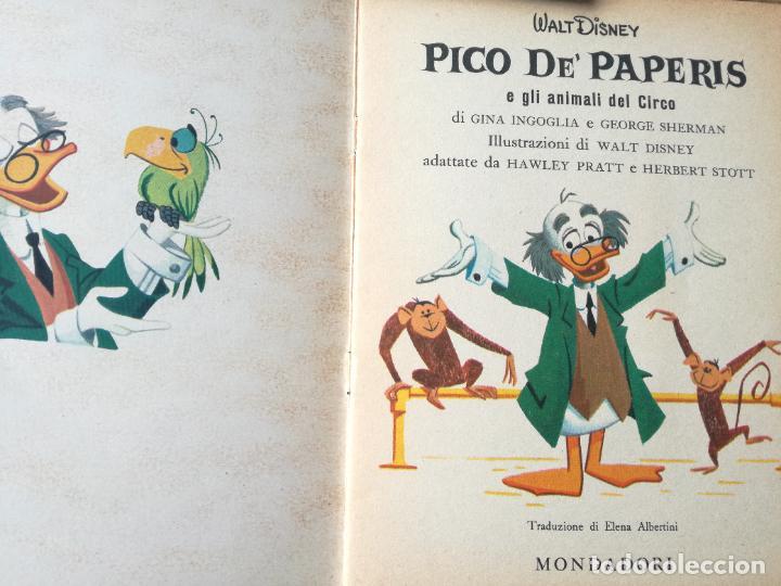 Libros antiguos: LOTE 3 CUENTOS DISNEY ANTIGUOS EN INGLES Y UNO EN ITALIANO - AÑOS 60 -70 - Foto 9 - 263880735
