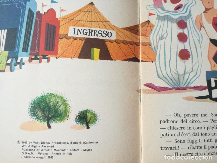 Libros antiguos: LOTE 3 CUENTOS DISNEY ANTIGUOS EN INGLES Y UNO EN ITALIANO - AÑOS 60 -70 - Foto 10 - 263880735
