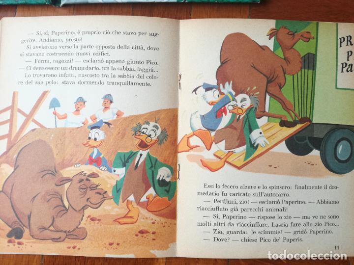 Libros antiguos: LOTE 3 CUENTOS DISNEY ANTIGUOS EN INGLES Y UNO EN ITALIANO - AÑOS 60 -70 - Foto 11 - 263880735