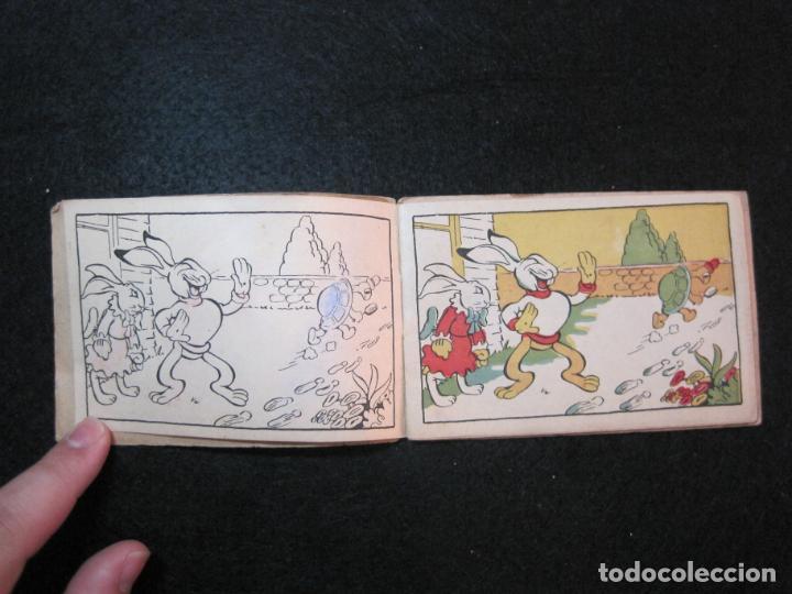 Libros antiguos: WALT DISNEY-CONEJETE Y TORTUGUITA-CUADERNOS DE DIBUJO Nº 13-EDITORIAL MOLINO-VER FOTOS-(80.801) - Foto 4 - 264077830
