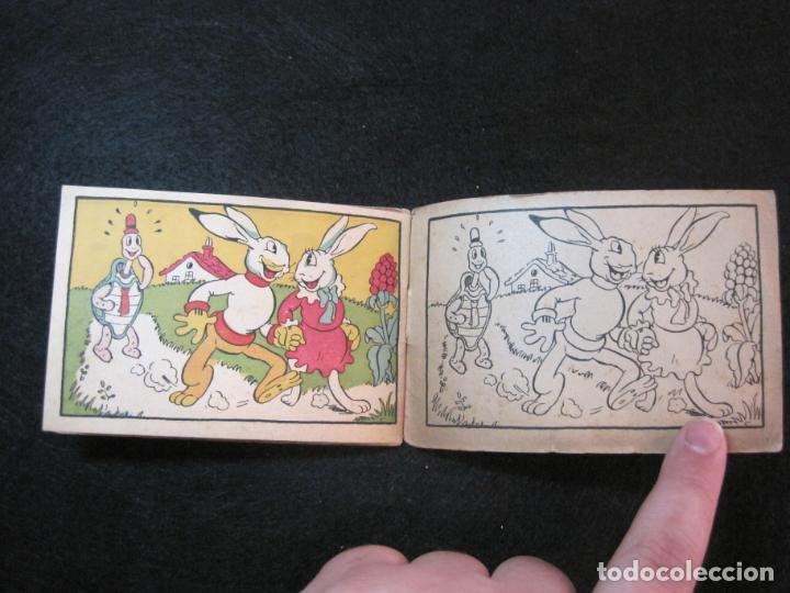 Libros antiguos: WALT DISNEY-CONEJETE Y TORTUGUITA-CUADERNOS DE DIBUJO Nº 13-EDITORIAL MOLINO-VER FOTOS-(80.801) - Foto 11 - 264077830