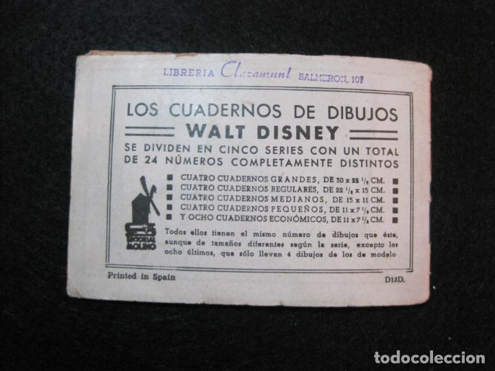 Libros antiguos: WALT DISNEY-CONEJETE Y TORTUGUITA-CUADERNOS DE DIBUJO Nº 13-EDITORIAL MOLINO-VER FOTOS-(80.801) - Foto 12 - 264077830