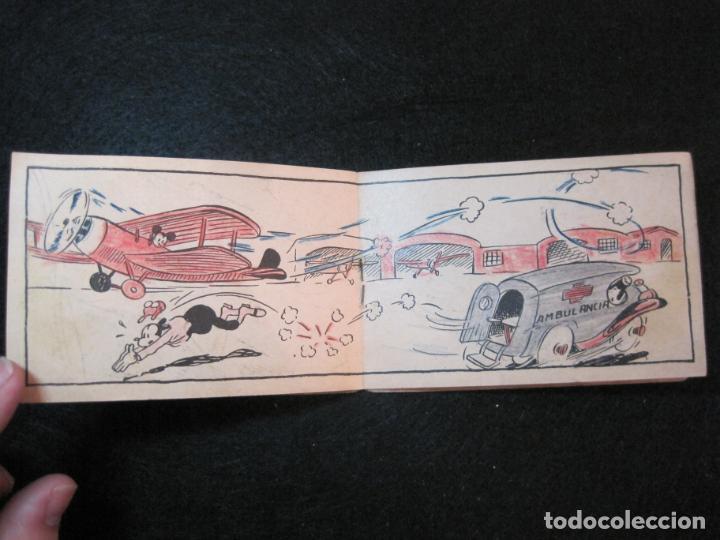 Libros antiguos: WALT DISNEY-MICKEY CORREO AEREO-CUADERNOS DE DIBUJO Nº 17-EDITORIAL MOLINO-VER FOTOS-(80.802) - Foto 5 - 264078000
