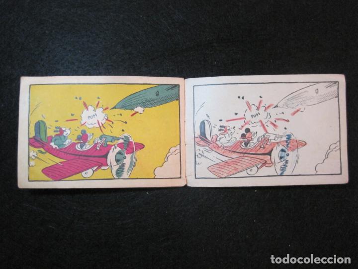 Libros antiguos: WALT DISNEY-MICKEY CORREO AEREO-CUADERNOS DE DIBUJO Nº 17-EDITORIAL MOLINO-VER FOTOS-(80.802) - Foto 7 - 264078000