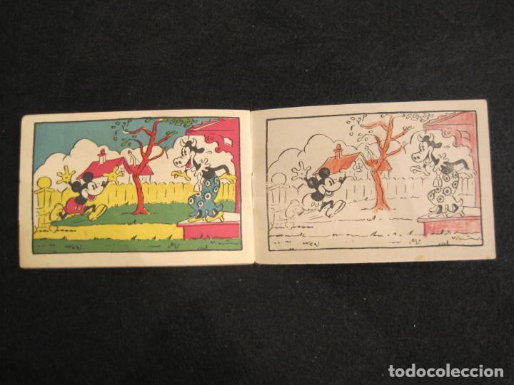 Libros antiguos: WALT DISNEY-MICKEY EN LA ISLA DEL TESORO-CUADERNOS DIBUJO Nº 18-EDITORIAL MOLINO-VER FOTOS-(80.803) - Foto 7 - 264078220
