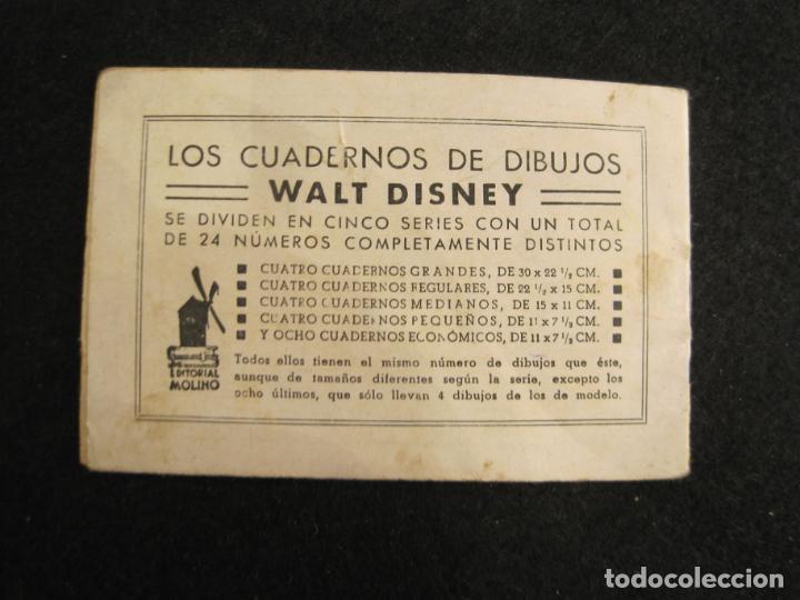 Libros antiguos: WALT DISNEY-MICKEY EN LA ISLA DEL TESORO-CUADERNOS DIBUJO Nº 18-EDITORIAL MOLINO-VER FOTOS-(80.803) - Foto 8 - 264078220